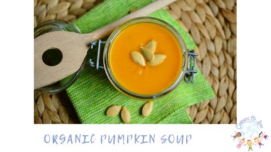 Organic Pumpkin Soup blog post