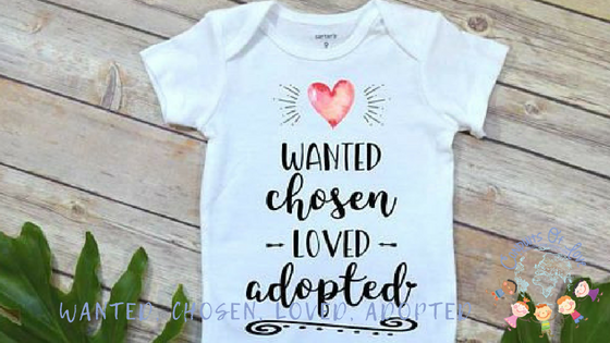 Wanted, Chosen, Loved, Adopted blog post