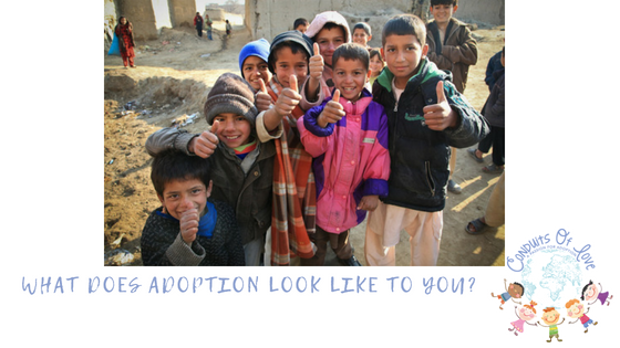 What Does Adoption Look Like To You? blog post