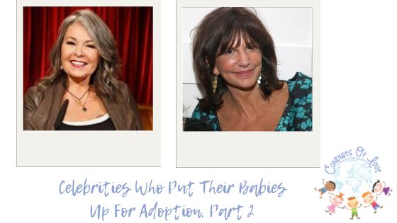 Celebrities Who Put Their Babies Up For Adoption, Part 2 blog post