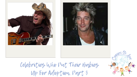 Celebrities Who Put Their Babies Up For Adoption, Part 3 blog post
