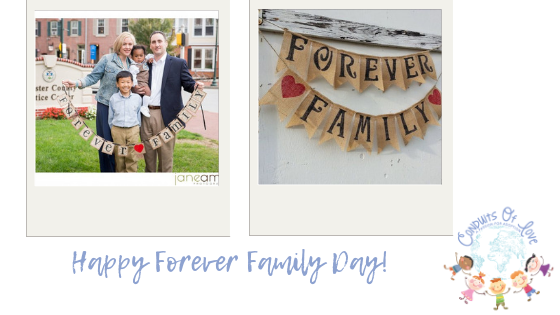 Happy Forever Family Day! blog post