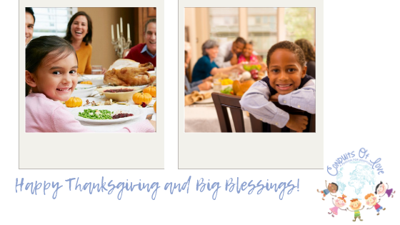 Happy Thanksgiving and Big Blessings! blog post