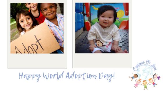 Happy World Adoption Day! blog post