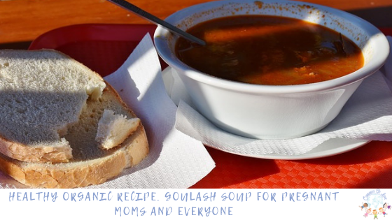 Healthy Organic Recipe, Goulash Soup for Pregnant Moms and Everyone blog post