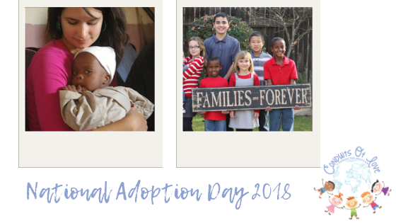 National Adoption Day 2018 blog post