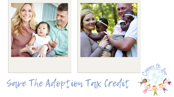 Save The Adoption Tax Credit blog post