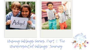 Unsung Siblings Series, Part 1: The Unrepresented Siblings' Journey blog post