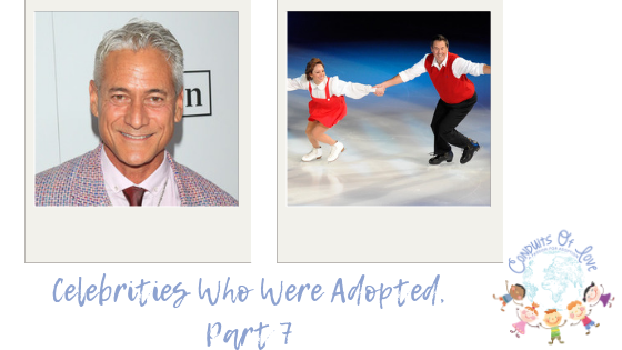 Celebrities Who Were Adopted, Part 7 blog post