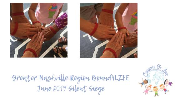 Greater Nashville Region Bound4LIFE June 2019 Silent Siege blog
