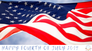 Happy Fourth of July 2019 blog