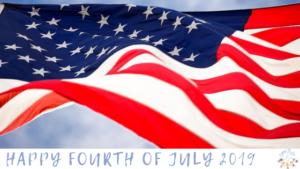 Happy Fourth of July 2019 blog